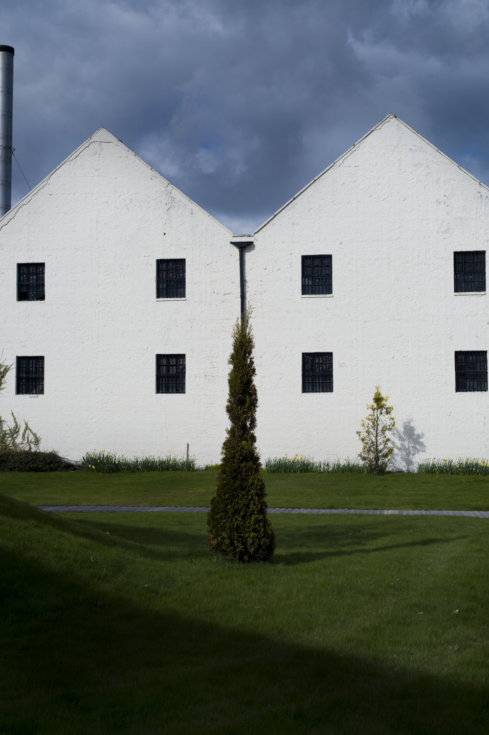 A building on The Macallan Estate.