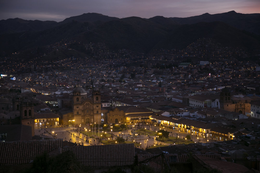 "Cusco's name roughly translates from an Incan word as ""navel"" or ""center."""