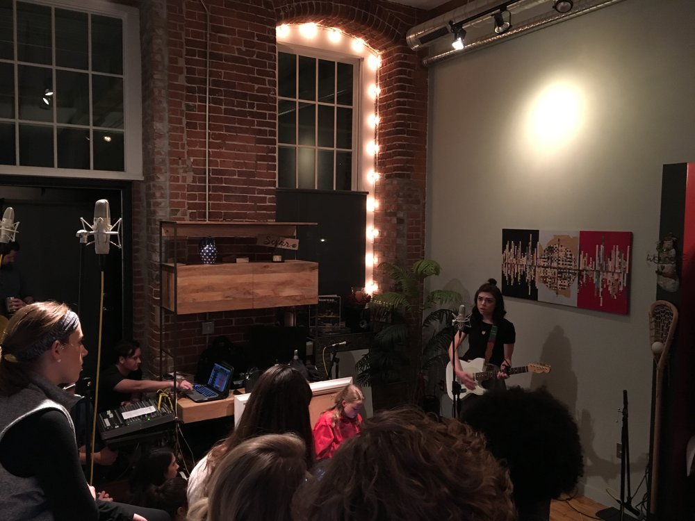 I played a show for Sofar Nashville recently and I'll be releasing a live performance video from that that show this week, so keep an eye out for that!