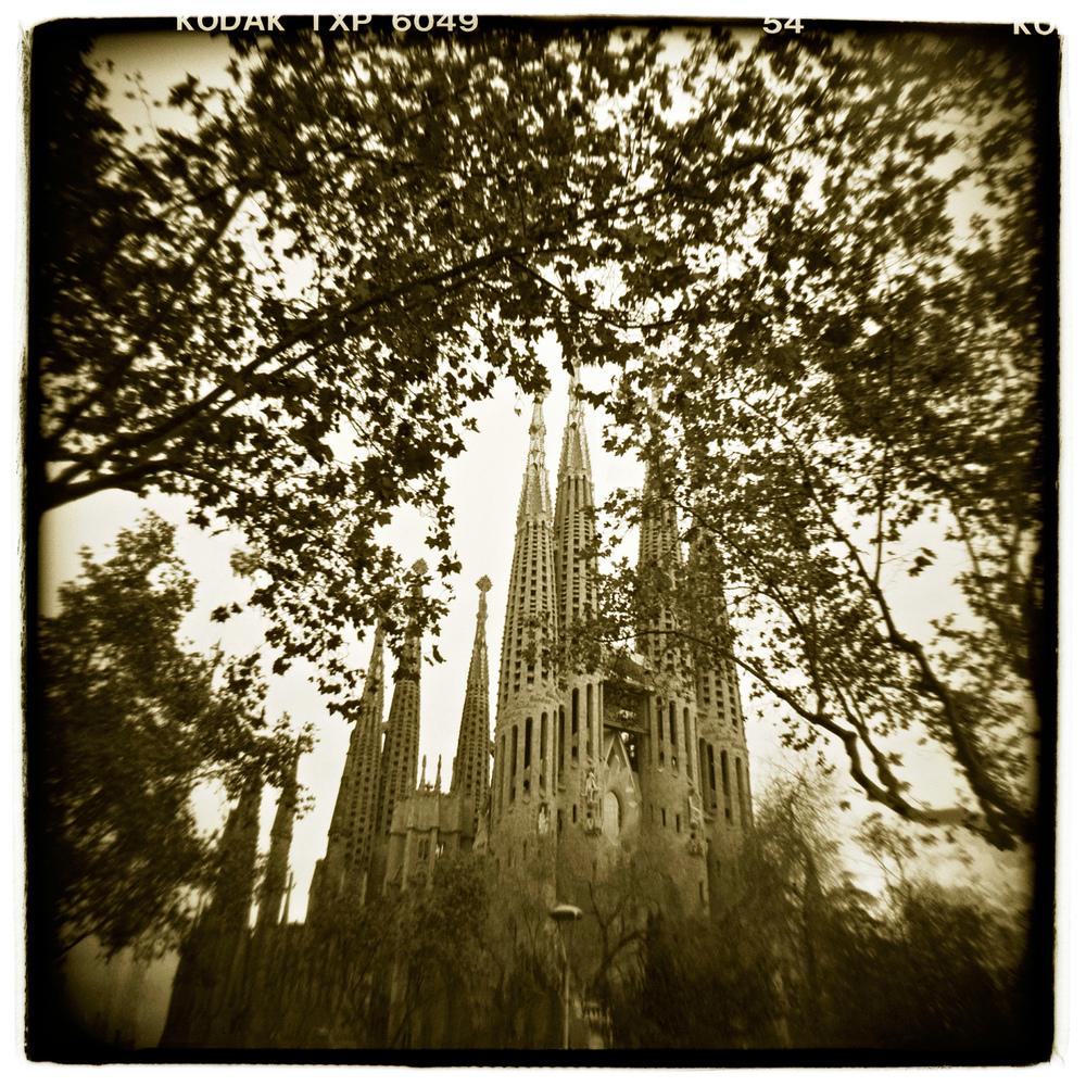 """Sagrada Familia, Barcelona"" H1447"