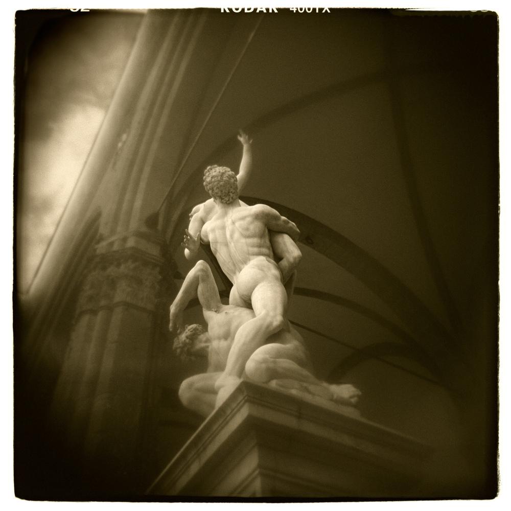 """""""Piazza Della Signoria, Florence"""" H1452"""