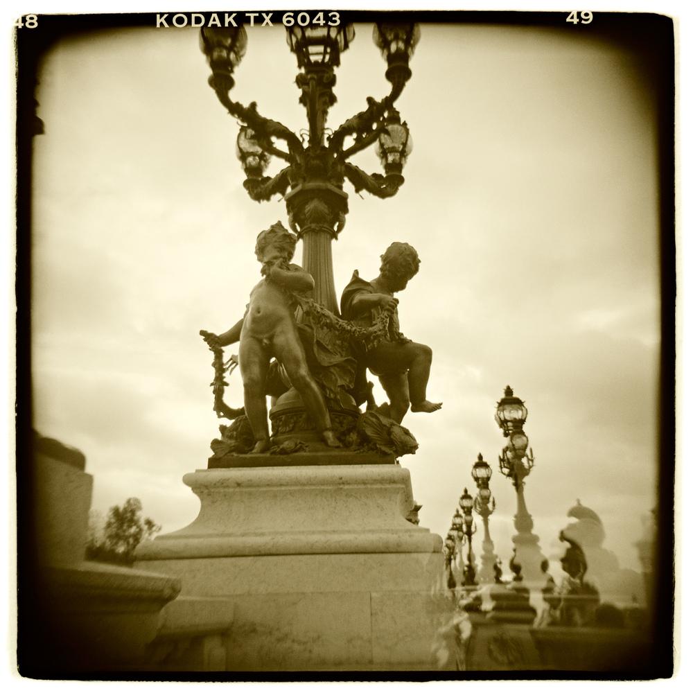 """Pont Alexandre lll, Paris"" H1458"