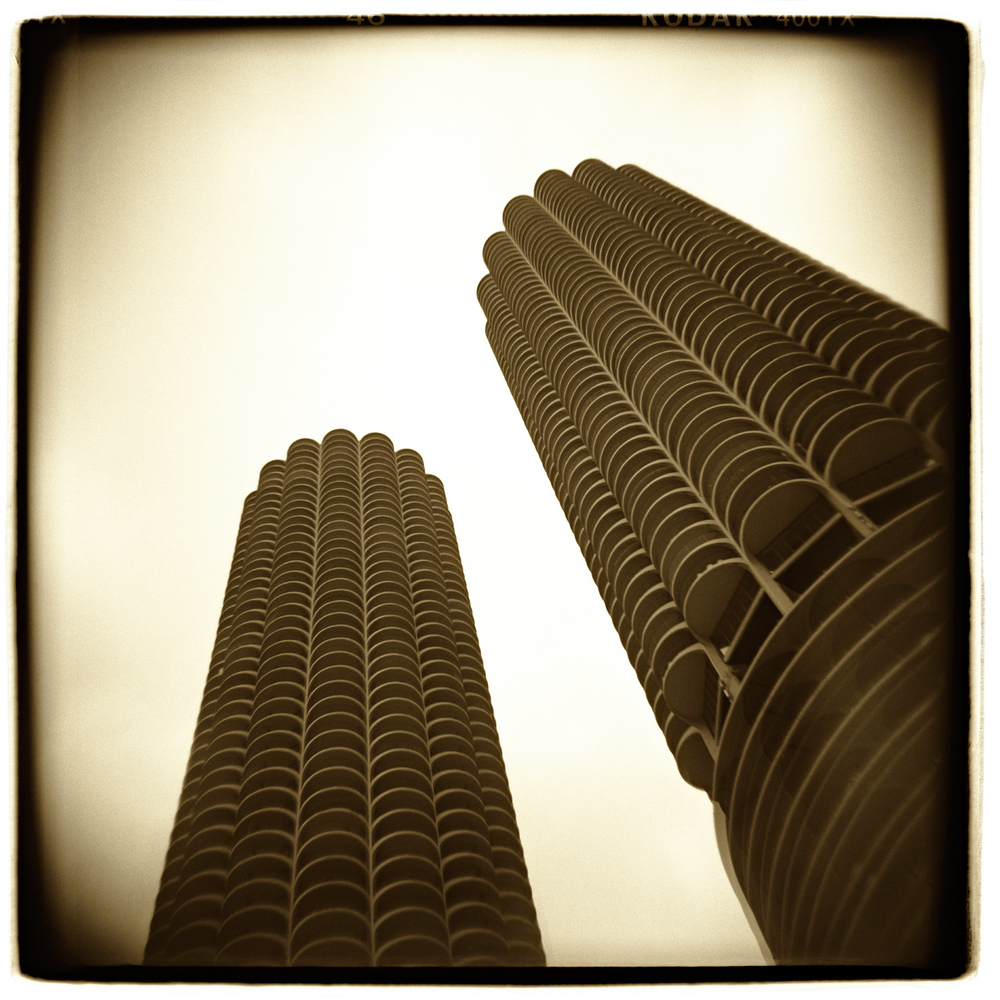 """Marina Towers, Chicago"" H1468"