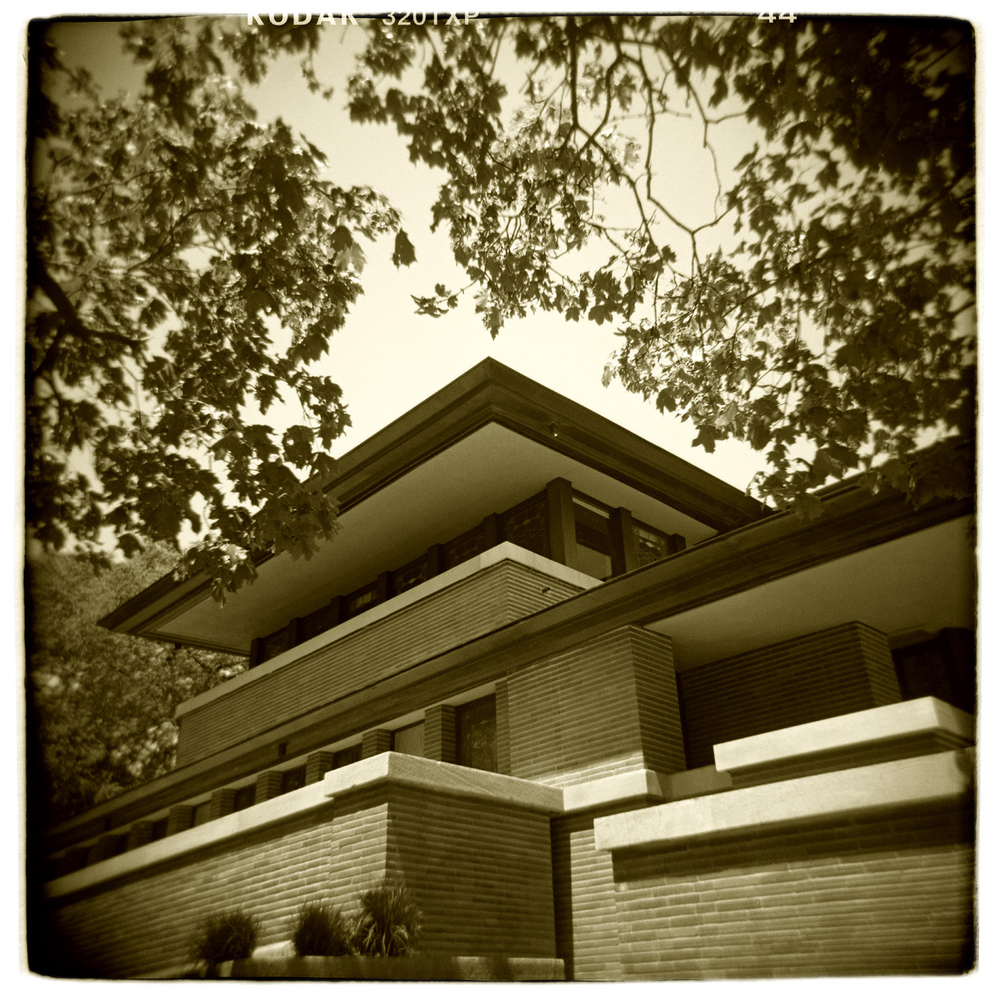 """Robie House, Chicago"" H1471"
