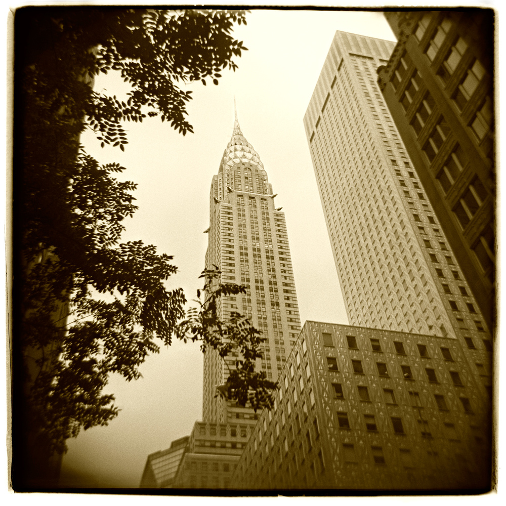 """Chrysler Building, New York"" H1474"