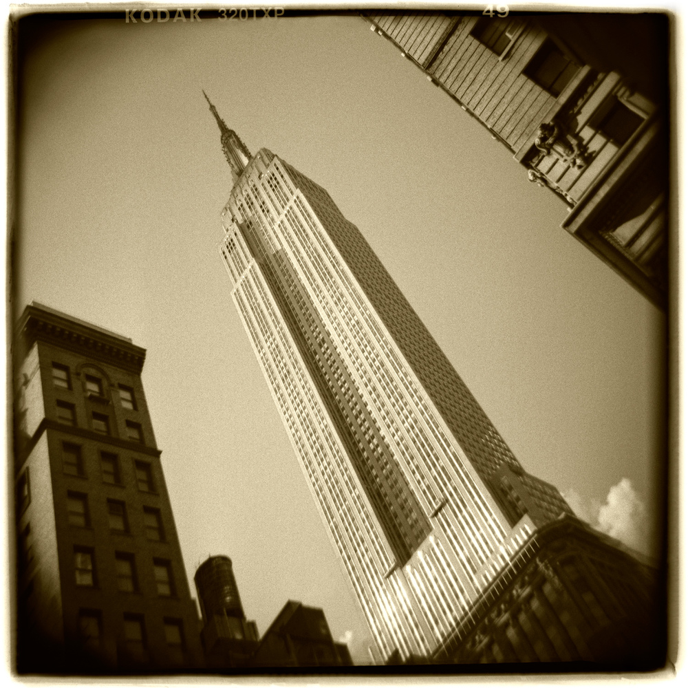 """Empire State Building, New York"" H1476"