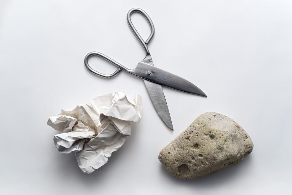 Rock-paper-scissors is no way to decide your payment strategy. Do your research and then demonstrate your support for what best meets your organization's needs.