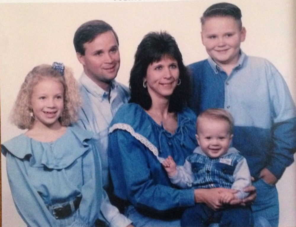 This picture is known in our family as the Denim Delight