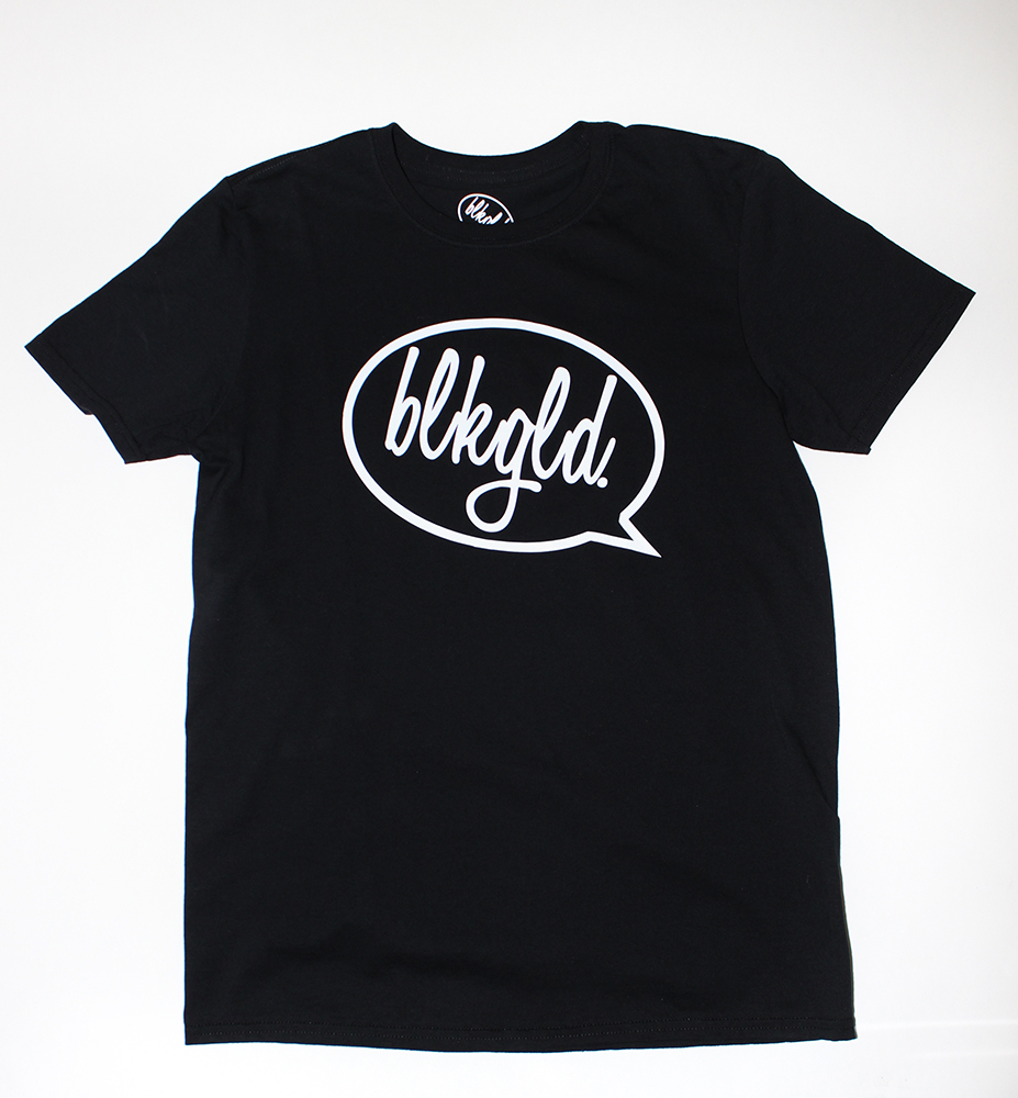"The ""BLKGLD. Bubble"" Men's T-Shirt"