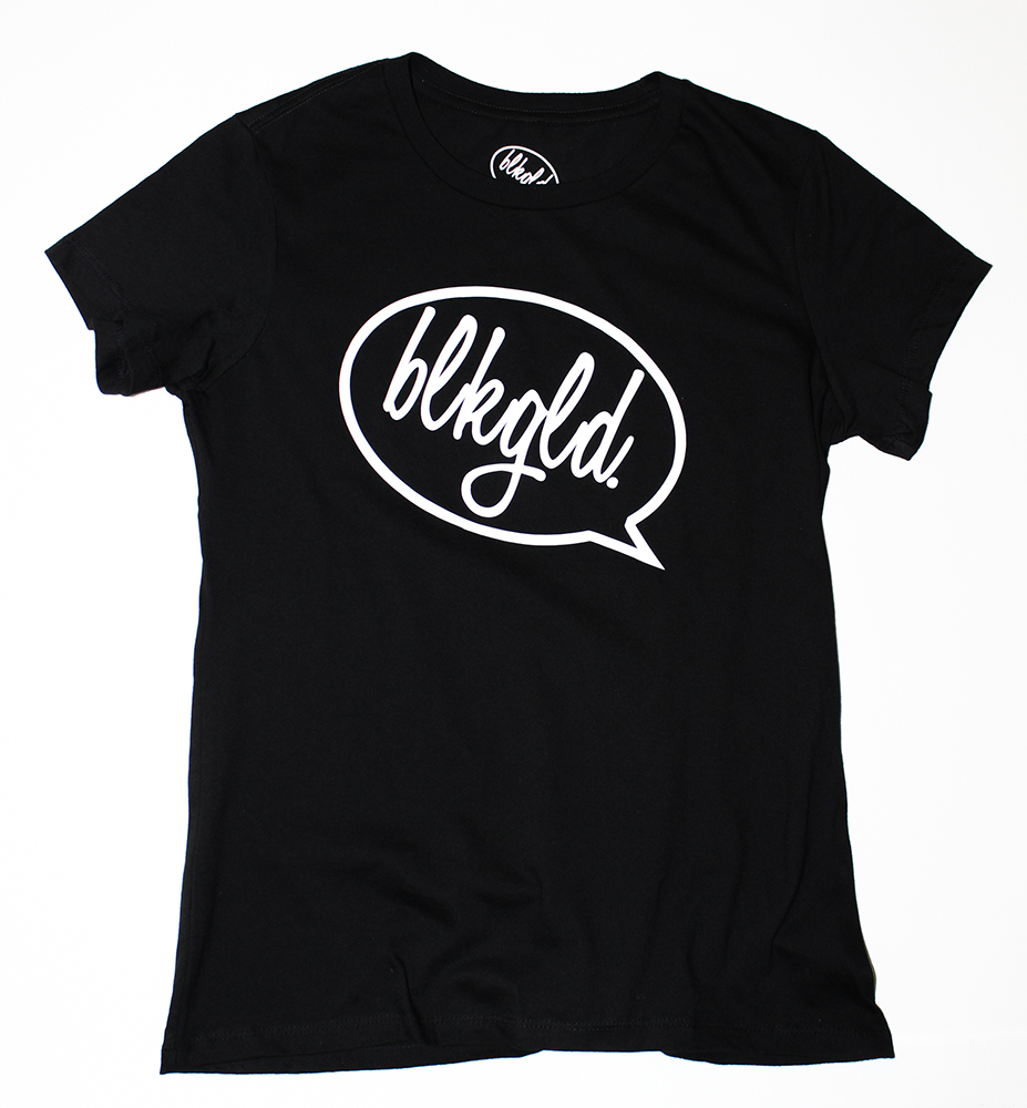 """BLKGLD. Bubble"" Women's T-Shirt"