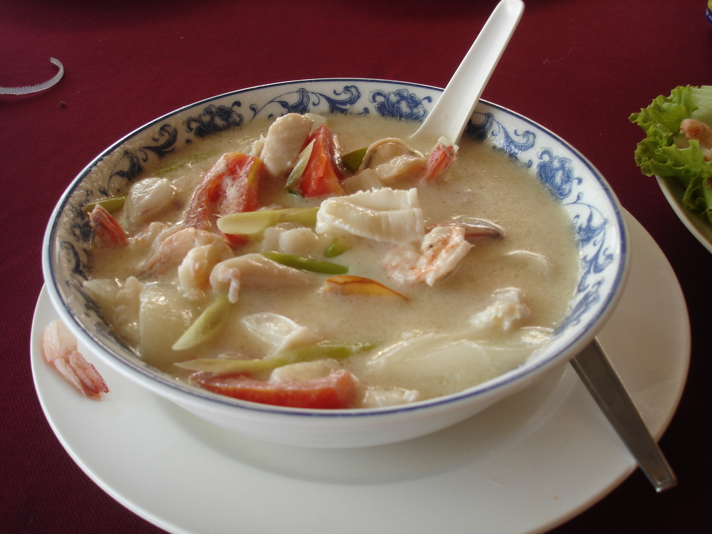 Tom Kha Gai in Phuket, Thailand