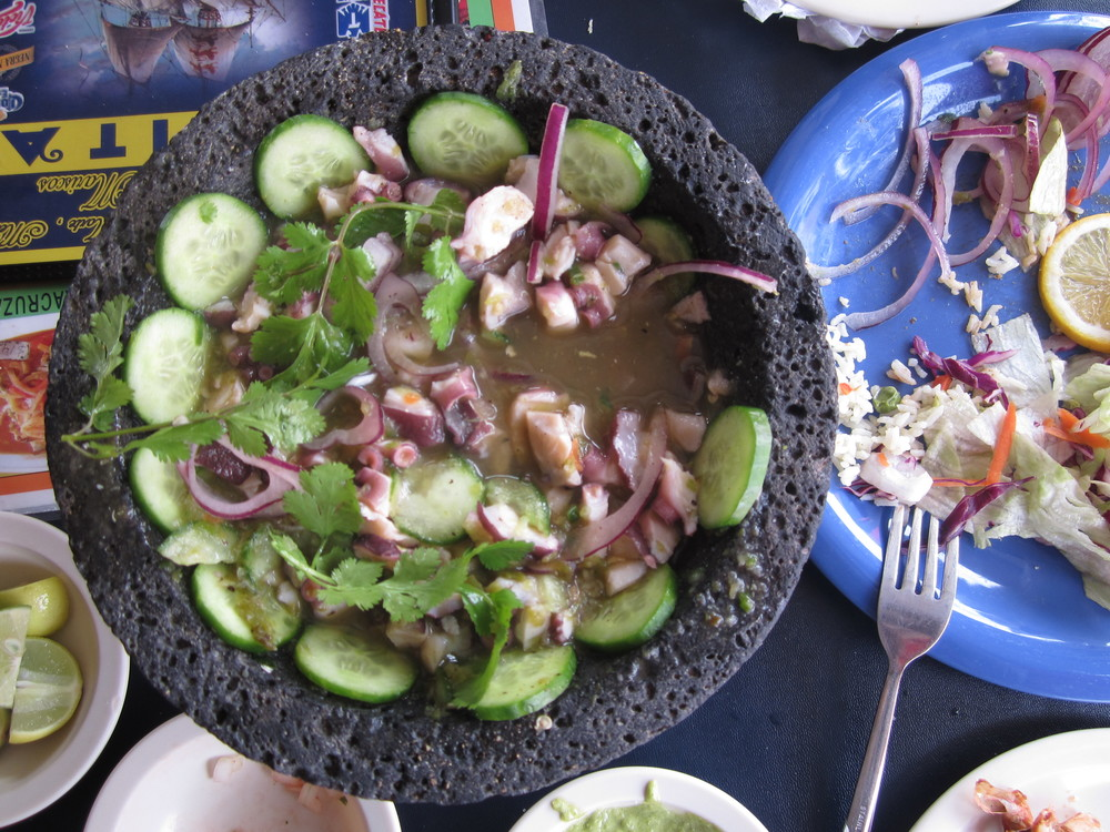 aguachile in Ensenada, Mexico