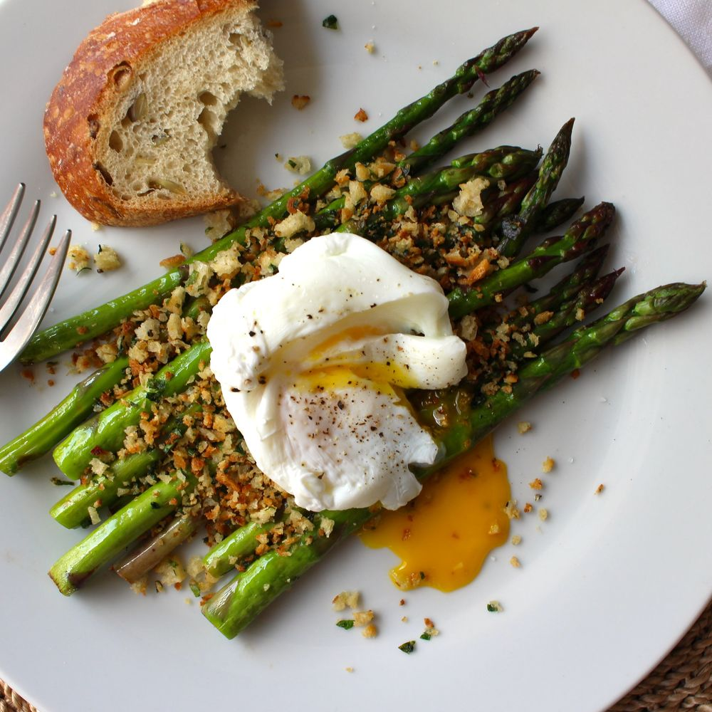 and top with a poached egg plus salt and pepper serve with a side of ...
