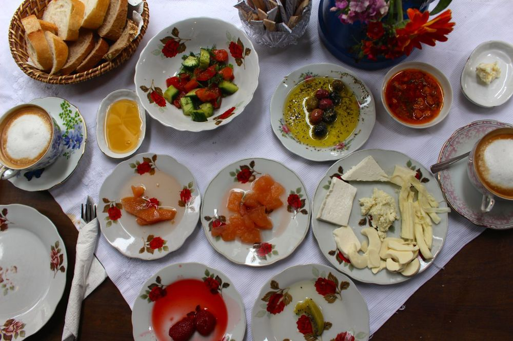 Turkish Breakfast in Istanbul