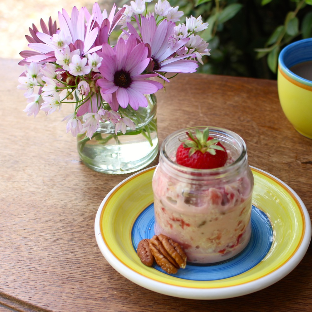 Strawberry-Coconut-Bircher
