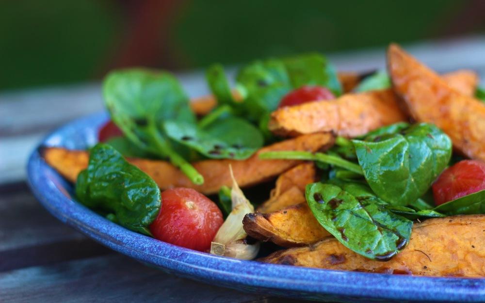 sweet-potato-spinach-salad