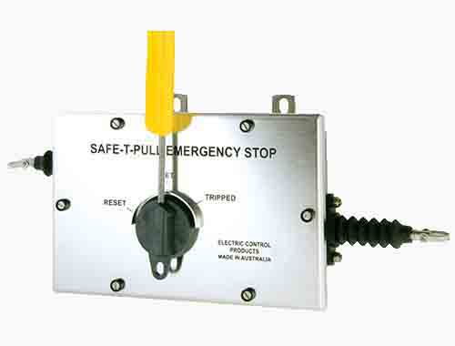 Safe-T-Pull (Electro Polished Stainless Steel): Lanyard/Pull Key Switches.