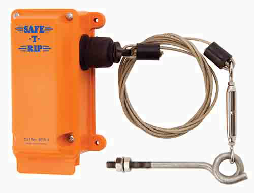 Safe-T-Rip (PBT/PV): Belt Rip/ Tear Switches.