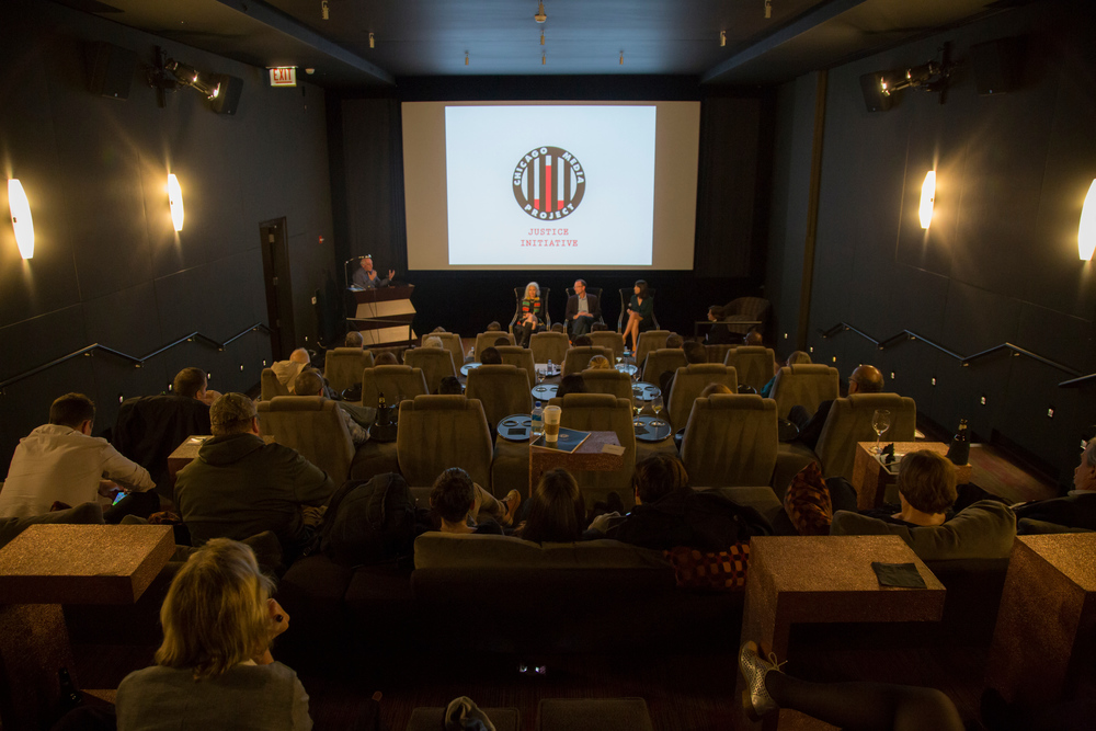 "Wednesday, October 15th, 2014: The Launch of The CMP Justice Initiative with a screening of the ""The Newburgh Sting"" and Q&A with Producer/Directors David Heilbroner and Kate Davis and Picture Motion's Wendy Cohen."