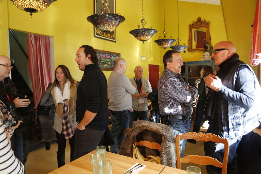 CMP members gather for a special brunch presentation from Storyville Global
