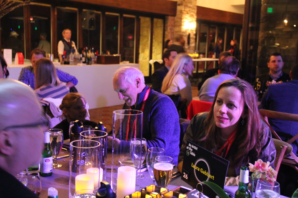 CMP hosts a table for the Artist at the Table benefit dinner