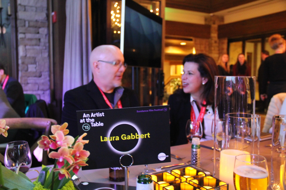 a Sundance Institute-supported artist joins each table at the AATT benefit