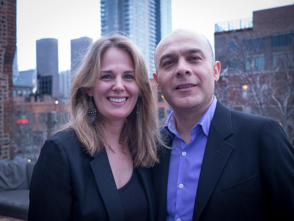 Tracy Hannan and Raul Esquerra