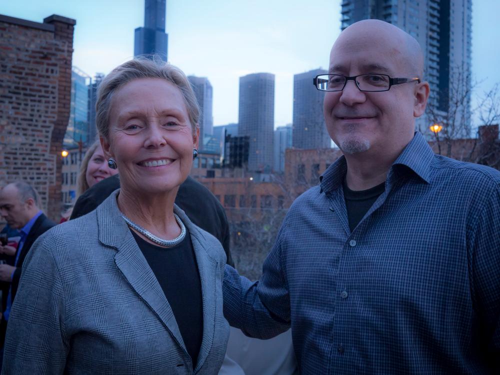 CMP members Gail Waller and Ken Pelletier