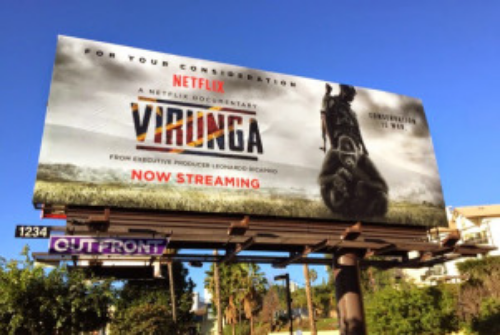 "Orlando von Einsiedel, director of Virunga, said signing with Netflix was ""an obvious choice"" because it means his documentary ""went to 50 countries and 53 million homes."""