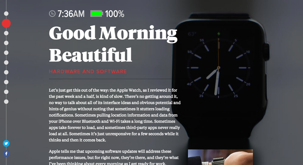Apple Watch Review, The Verge