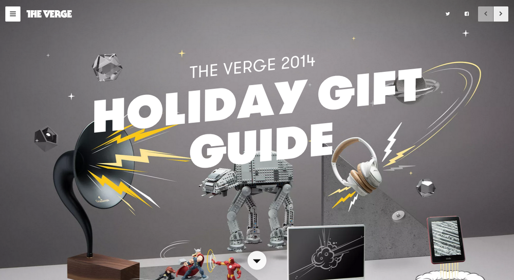 2014 Holiday Gift Guide, The Verge