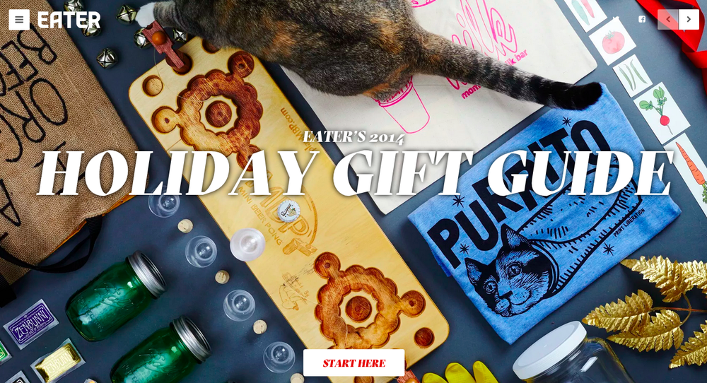 Holiday Gift Guide 2014, Eater