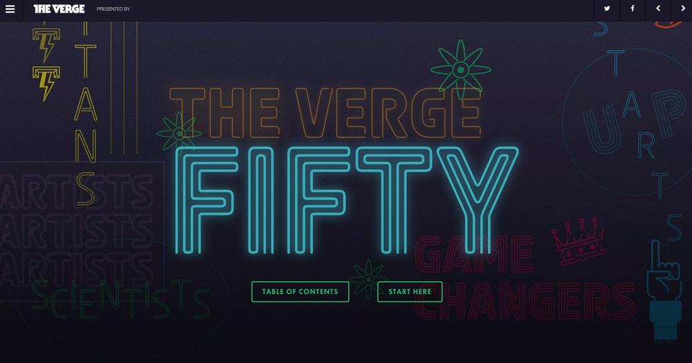 2014 Verge 50, The Verge