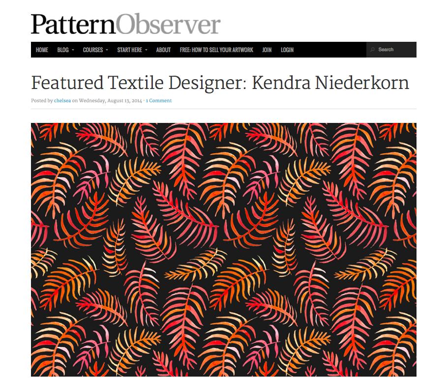 pattern observer