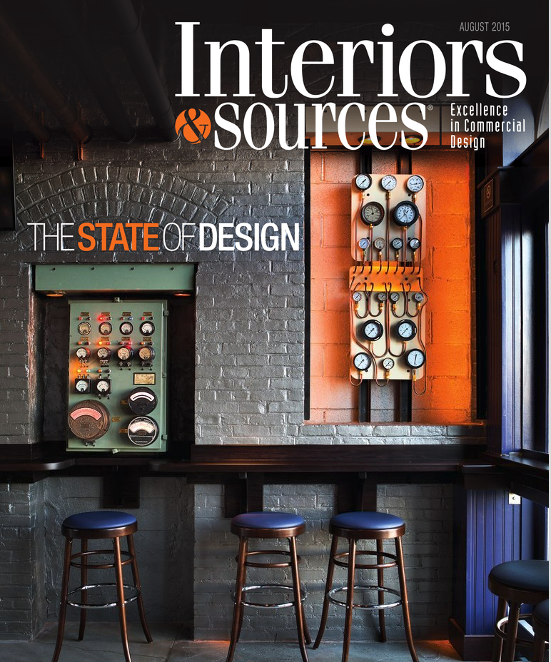Interiors & Sources, August 2015