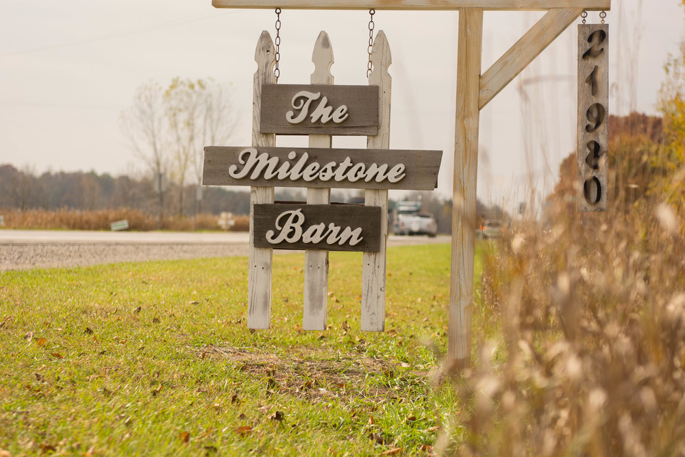 Michigan Milestone Barn Wedding Photographer