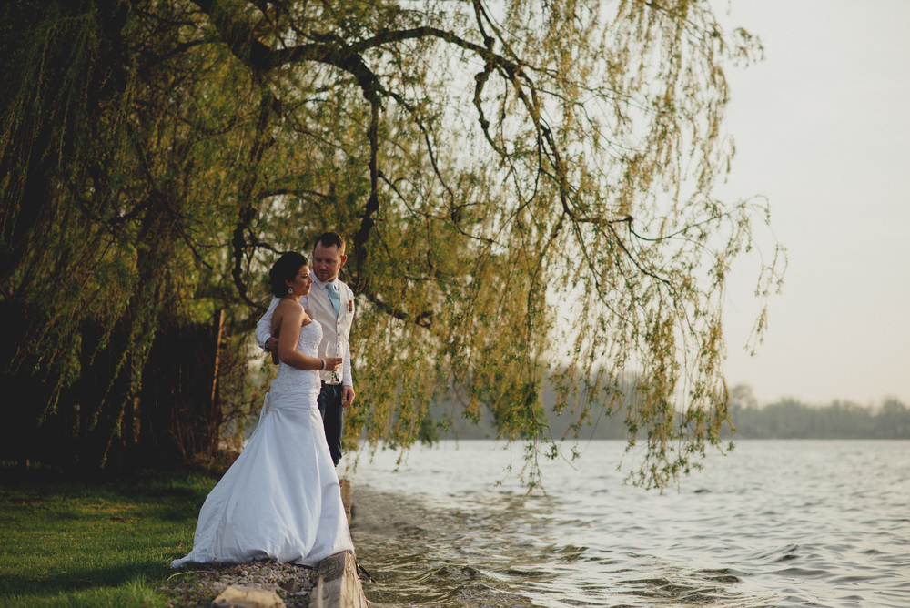 Lake nepessing boat club wedding dress