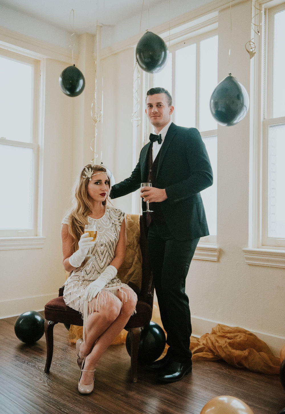 Great Gatsby Themed Wedding | Miss Lyss Photography | www.misslyssphotography.com