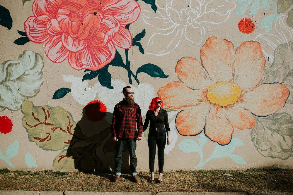 Detroit Flower Wall | Miss Lyss Photography | www.misslyssphotography.com