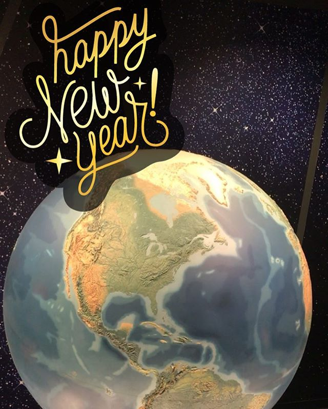 Happy New Year! On this planet we all share ❤️ #2018 #planetearth