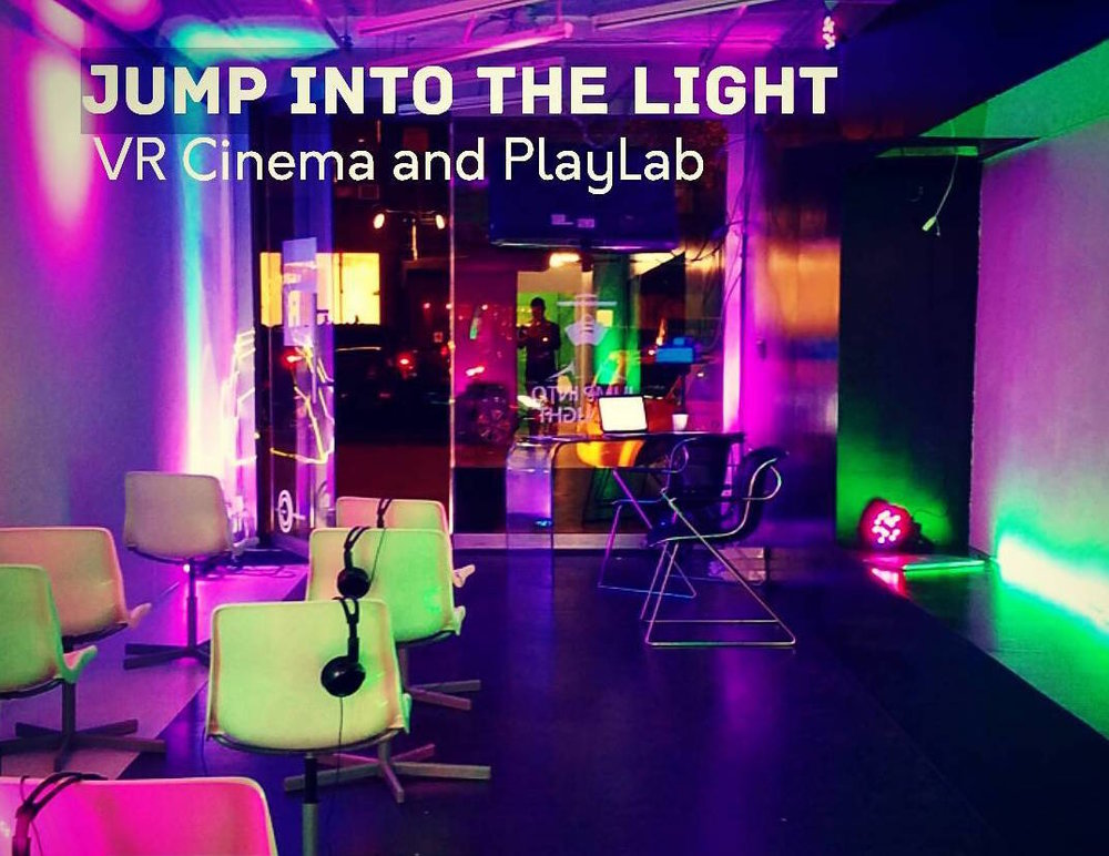 Jump Into the Light is offering a novel virtual reality cinema and experimental lab, featuring 360 VR Films, painting in 3 dimensions, Oculus Rift, HTC Vive and 3D scanning. Exclusively at Open Gallery Space until February 27th Mon, Tues, Wed: 11am – 11pm Thur, Fri, Sat: 11am – 2am Sun:Noon – 11pm GET TICKETS HERE http://jumpintothelight.com/