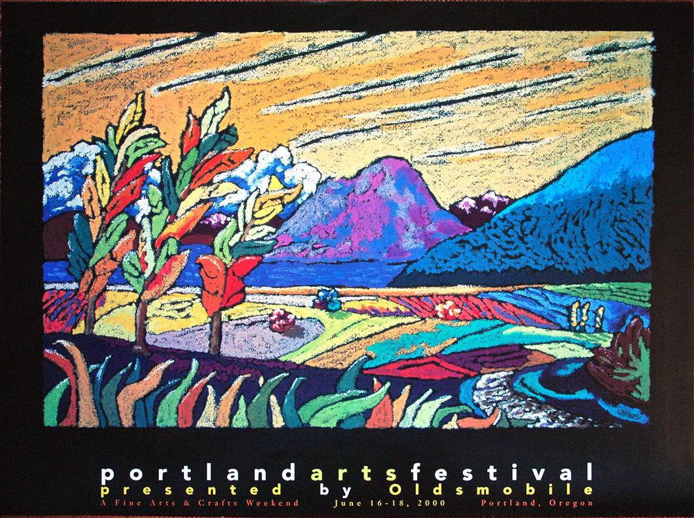 Portland Arts Festival Poster 2000