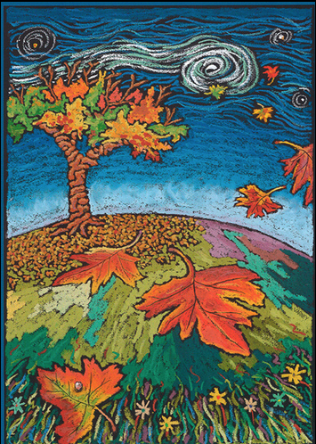 Corvallis Fall Festival Poster 2000