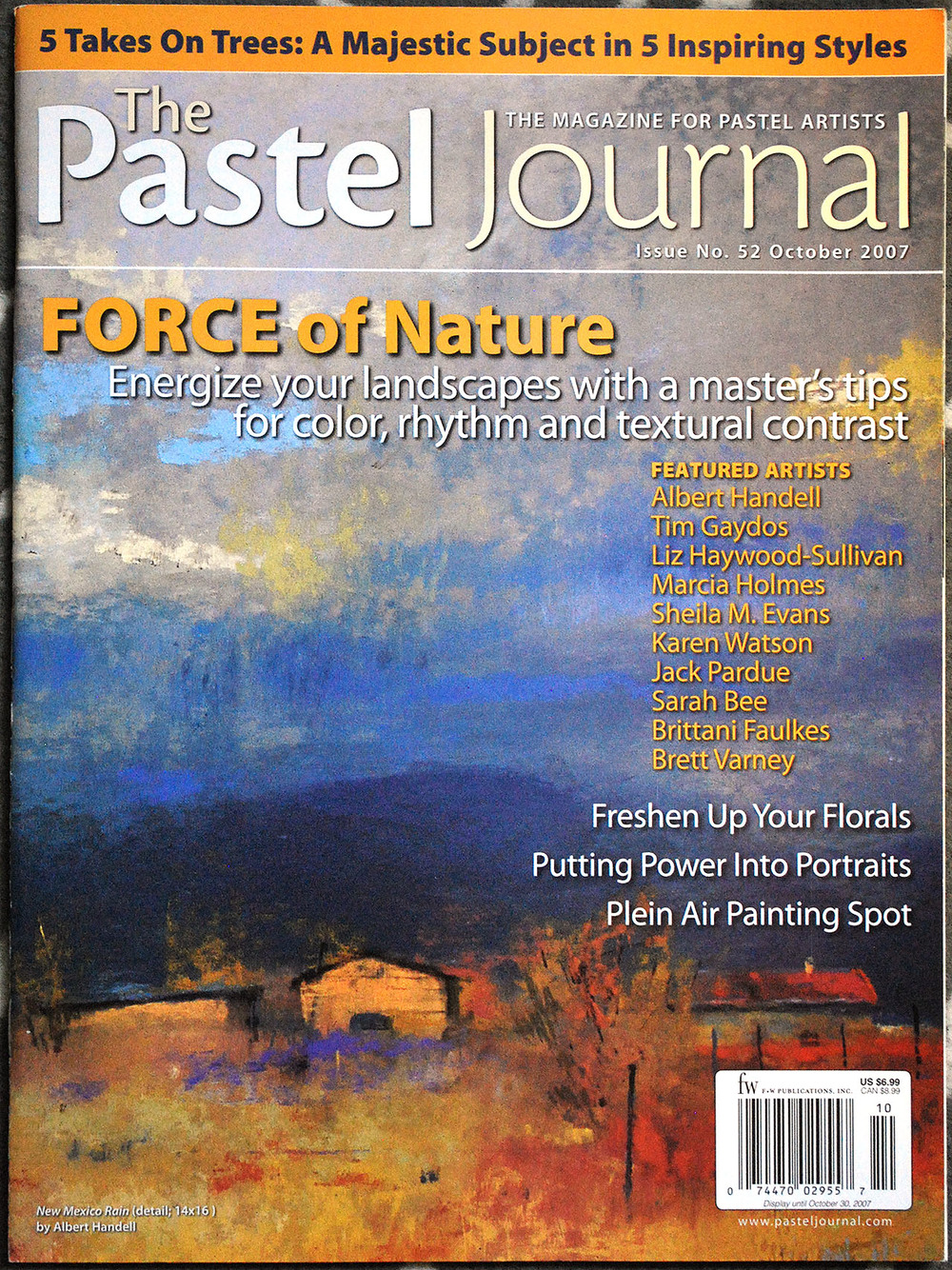 Pastel Journal Oct 2007