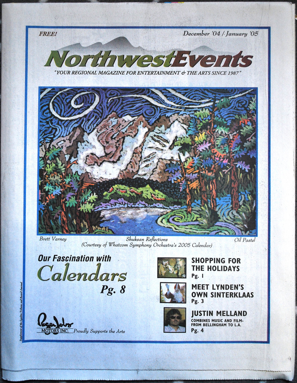 NW Events Newspaper COVER