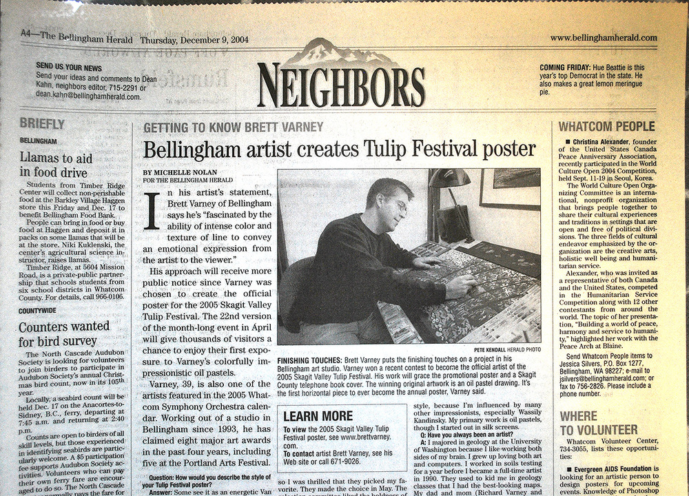 Bellingham Herald Newspaper, 2005
