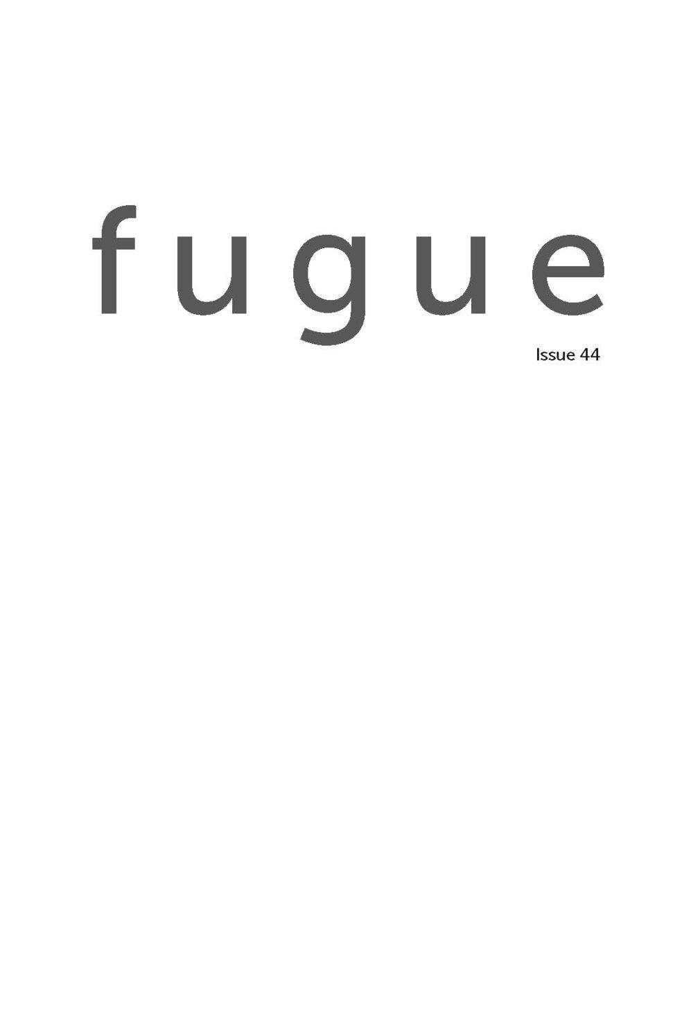 fugue 44 (2013)