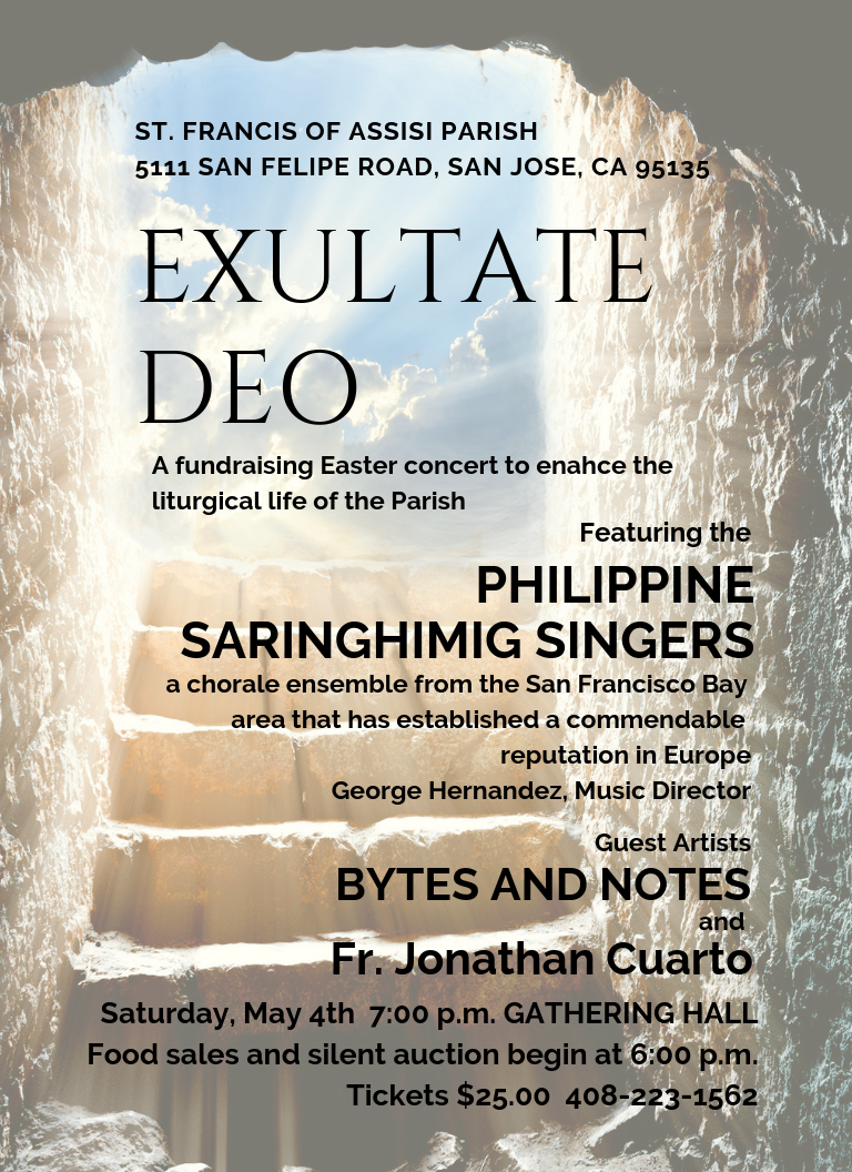 Click on the poster to bring you to the Philippine Saringhimig Singers website