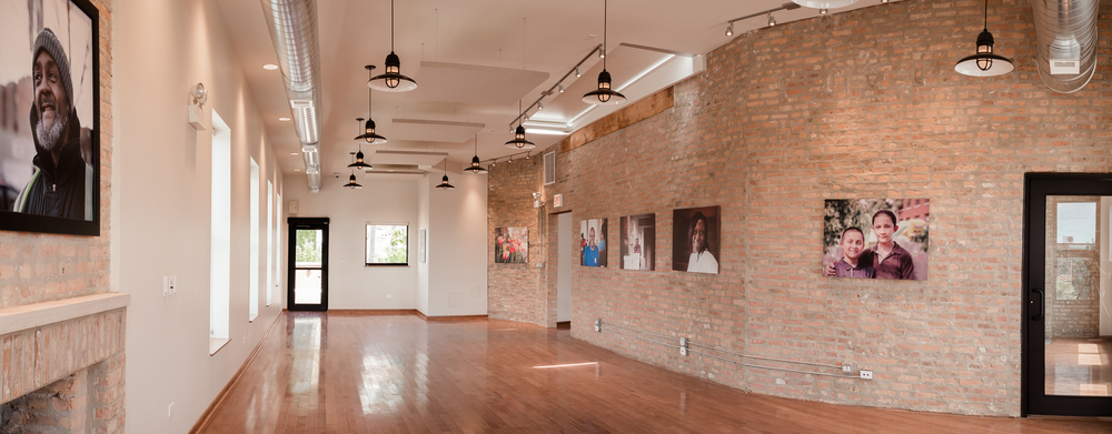 The Gallery at 3824 | Fireside Loft