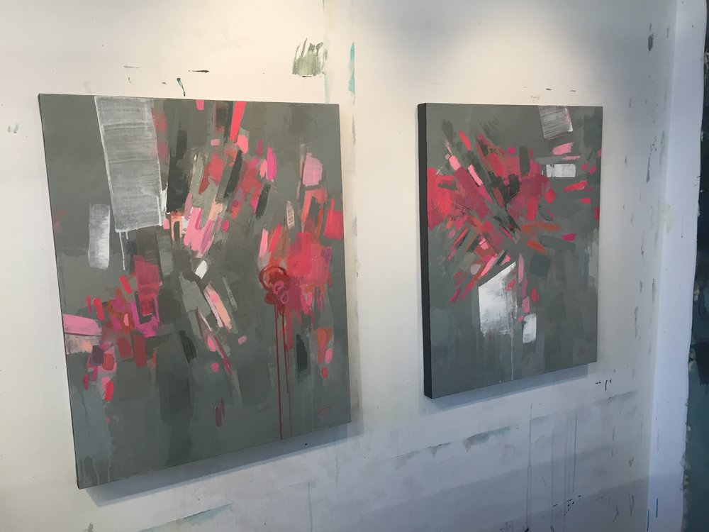 Pink 1 and 2 on wall.JPG
